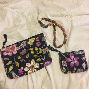 Vera Bradley Bag and Headband Bundle